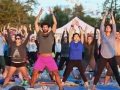 Sunset yoga - 3